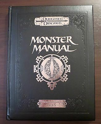 D&D 3.5 Monster Manual Special Edition from 2004 Near Mint
