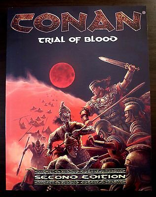 Conan Trial of Blood NEW - Mongoose Publishing d20