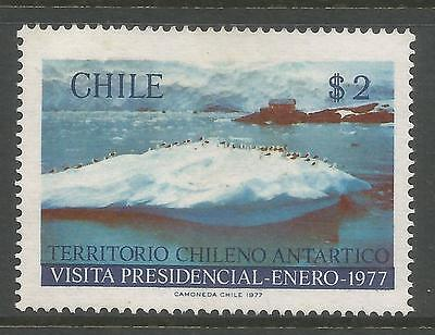 CHILE. 1977. Presidential Visit to Antarctica. SG: 781. Mint Never Hinged