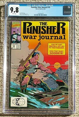 Punisher War Journal #19 – Marvel Comics 1990 – CGC Grade 9.8 NM/MT