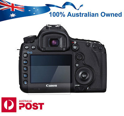 Pro Tempered Glass Screen Protector for Canon EOS 5D Mark III MK 5D3 5DS 5DSR