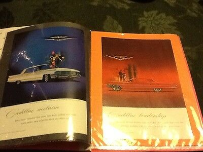 (10) Cadillac Original Print Ads Dates 1962 Thru 1969 Folder Included Ships FREE