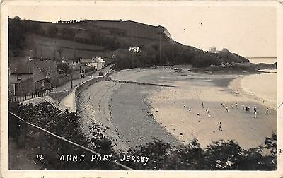 POSTCARD    JERSEY    Anne   Port