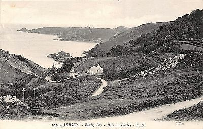 POSTCARD    JERSEY    Bouley    Bay    ED  165