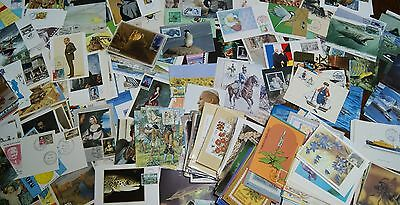 MAXI CARD TYPES COLLECTION in WHALES FLOWERS BOATS ANIMALS THEMATIC SCENES 500+