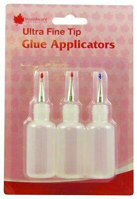 Woodware Ultra Fine tip Glue Applicator 3pk WW2916