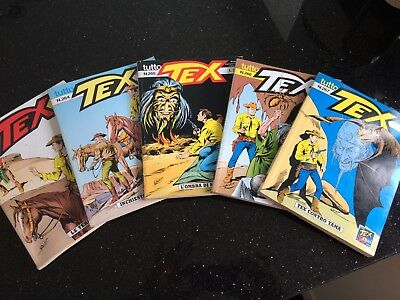 Tex Willer 72 Different Italian Comic Digests Tutto 1990's