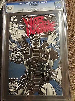 IRON MAN #282 CGC 9.8 NM/MT 1ST FULL APP OF WAR MACHINE!!! Infinity War
