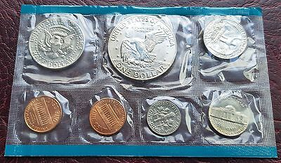 United States 1974 Sealed Unc 7 Coin Mint Set Dollar-Cent