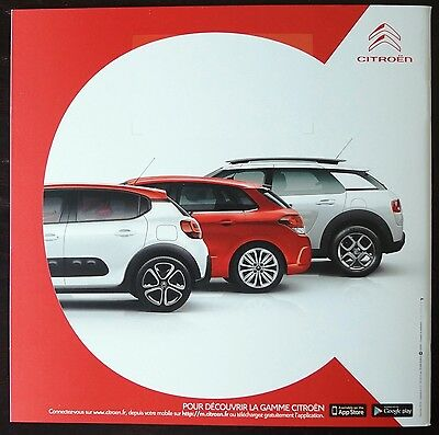 catalogue citroen c3 c4 cactus societe edit d c 2016 28pages eur 4 50 picclick fr. Black Bedroom Furniture Sets. Home Design Ideas