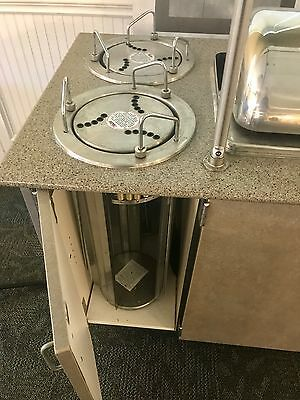 Electeic Buffet steam table, restaurant grade with sneeze guards