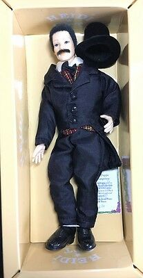 Heidi Ott Male Servant In Top Hat And Tails, Dolls House Doll 1.12th Scale
