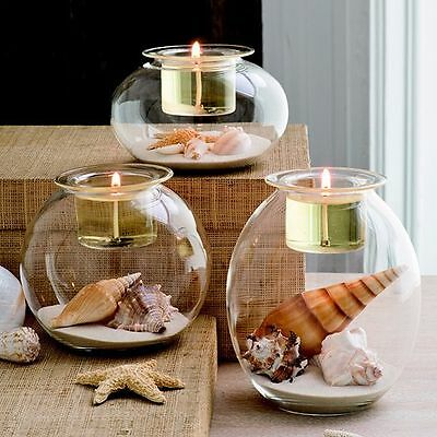 PartyLite Clearly Creative Eclectic Votive Tealight Trio-new in original box