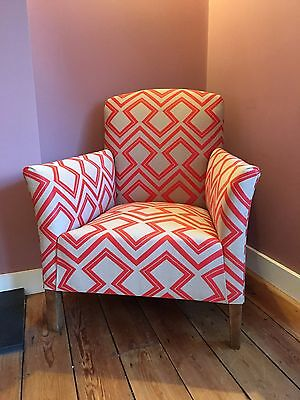 Vintage armchair, newly restored and reupholstered