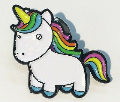 Unicorn Pin Lapel Brooch Birthday Gift Present Decoration Cute Colourful Enamel