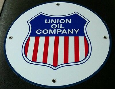 Union Oil Company Motor Oil Gas gasoline sign . FREE shipping on any 8 signs