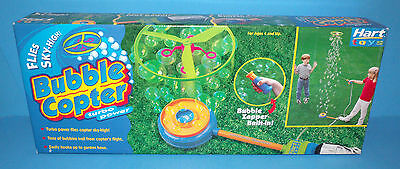 Turbo Power Bubble Copter New in Sealed Box Hart Toys