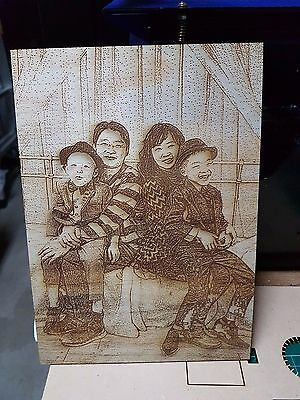 Customised-Personalised Wooden Picture with Stand