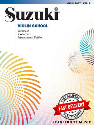 Suzuki Violin School Volume 2 Book Only - Revised Edition - Violin