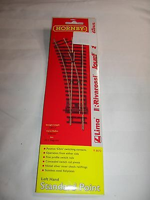 Hornby R8072 Left Hand Standard Point OO scale unopened