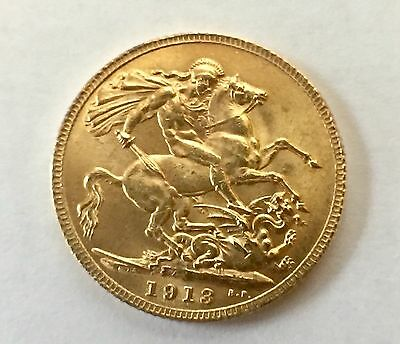 Great Britain Sovereign, 1913