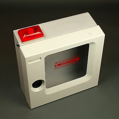 Cardiac Science AED Surface Mount Cabinet w/ Alarm & Strobe for Powerheart G3/G5