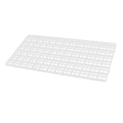 Plastic Rectangle Aquarium Fish Tank Separation Board Isolation Plate Clear