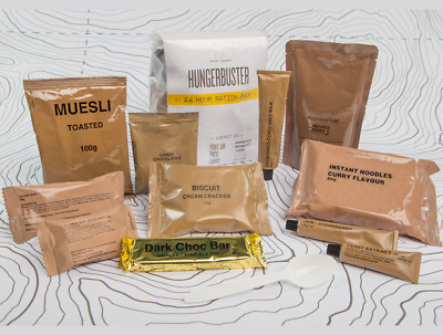 MRE Hungerbuster 24hr Ration Pack SPAGHETTI BOLOGNESE
