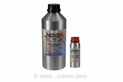DNA High Solid Primer 1 Litre kit 2pac 2k White Surfacer panel shop HSPWK_-1