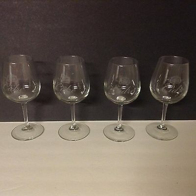Stella Artois Cidre Cider Chalice Wine Glass Goblets - Set of 4 - Free Shipping