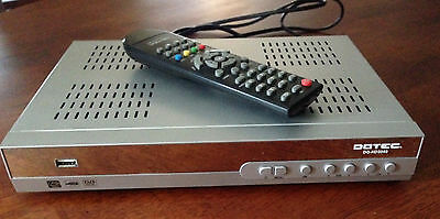 DGTEC DG-HD3040 Digital Set Top Box (records to USB) USED in EXCELLENT condition