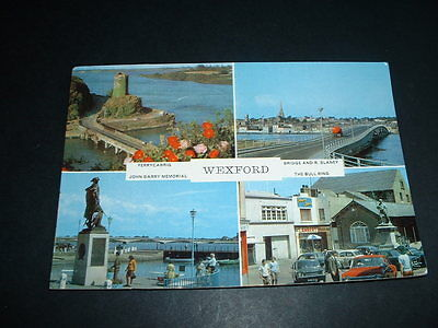 Irish Postcard  Wexford Ireland Posted 1974