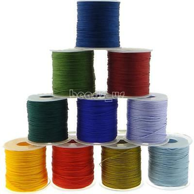 Bonded Nylon Sewing Thread Color Upholstery Leather Thread Plastic Spoll 1mm