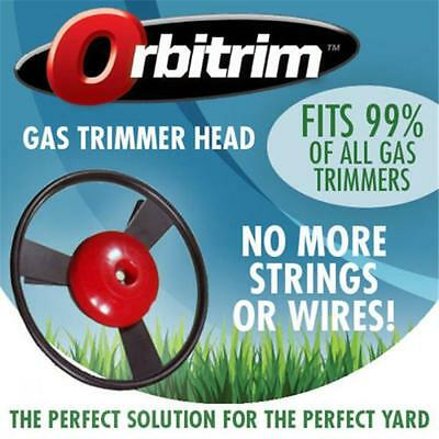 Orbitrim No String Head Gas Trimmer Iron Solid Lawn Care Steel Tool Home Garden