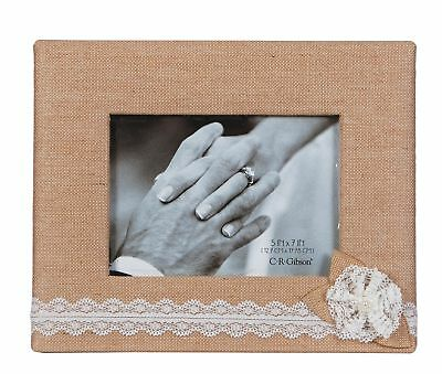 C.R. Gibson Tabletop Photo Frame 5 by 7-Inch Moments