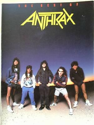 The Best of Anthrax song book