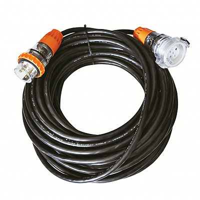 3 phase Extension Lead 32A 5 pin 10M