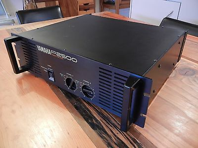 YAMAHA P2500 Power Amp 230VAC  EXCELLENT 1 of 2