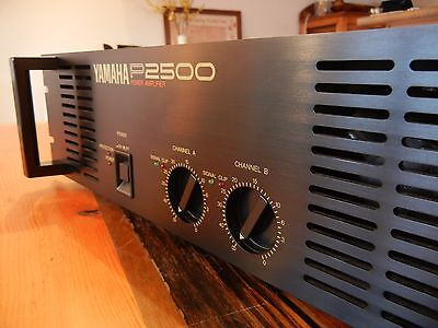 YAMAHA P2500 Power Amp 230VAC  EXCELLENT 2 of 2