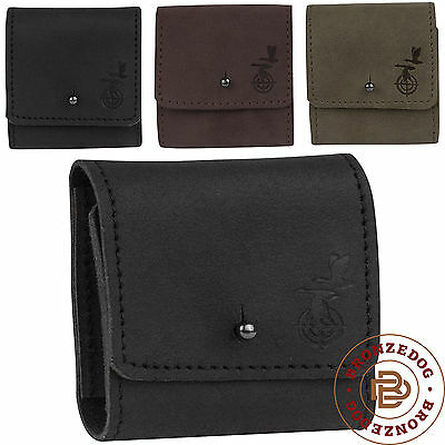 Leather Rifle ammo Shell holder Cartridge Belt Case 7.62 cal Hunting Pouch