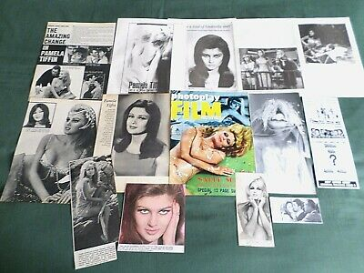 Pamela Tiffin -   Film Star - Clippings /Cutting Pack