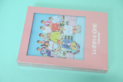 Wanna One 1x1=1 To Be One PINK ver.CD+Booklet+Poster+Sleeve+Card+Flipbook+Ticket