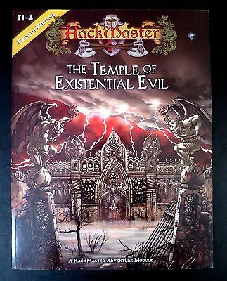 Temple of Existential Evil - Wizards of the Coast & Kenzer Co. - Near Mint