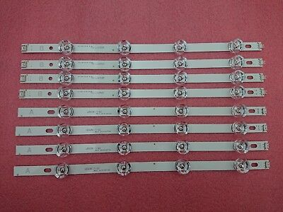 8pcs/set LED strip Replacement for LG 39LB5800 innotek DRT 3.0 39 inch A B type