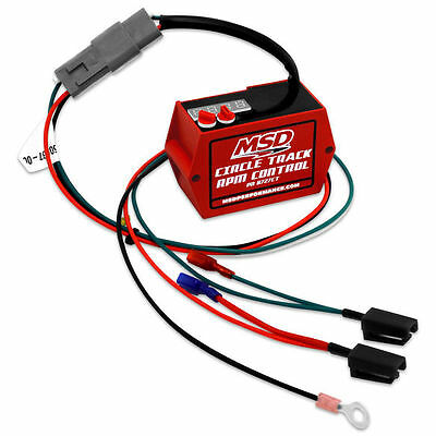 MSD 8727CT Circle Track Digital Soft Touch Rev Limiter for HEI Distributor