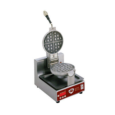 Wells BWB-21SE Single Round Belgian Waffle Maker