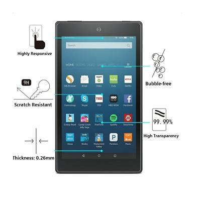 Shatterproof Tempered Glass Screen Protector For Amazon Kindle Fire HD 8""