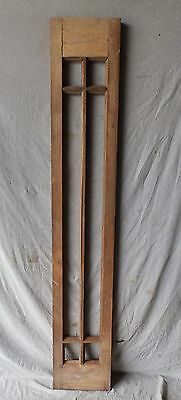 Antique Entrance Door Sidelight Transom Window 6 Lite Arts & Craft 73x12 425-17P