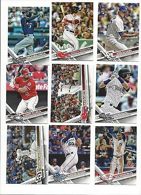 2017 Topps Series 1 & 2  #'S 251-500   Stars, Rookie Rc's - Who Do You Need!!!