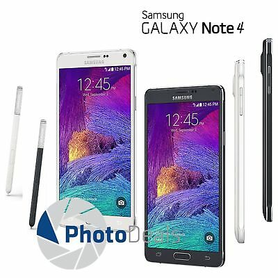 "Samsung Galaxy Note 4 N910T 32GB 5.7"" 4G LTE Factory Unlocked Smartphone"